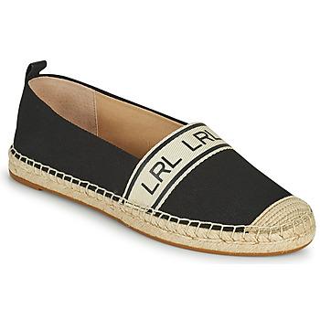 Topánky Ženy Espadrilky Lauren Ralph Lauren CAYLEE Čierna
