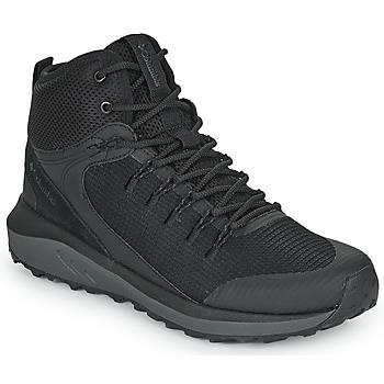Topánky Muži Turistická obuv Columbia TRAILSTORM MID WATERPROOF Čierna