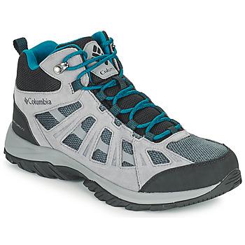 Topánky Muži Turistická obuv Columbia REDMOND III MID WATERPROOF Šedá