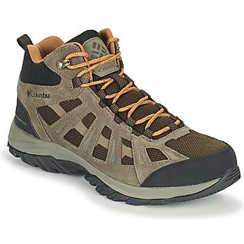 Topánky Muži Turistická obuv Columbia REDMOND III MID WATERPROOF Hnedá