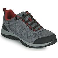 Topánky Muži Turistická obuv Columbia REDMOND III WATERPROOF Šedá