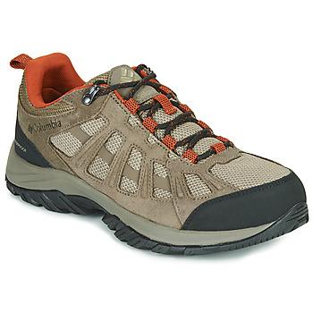Topánky Muži Turistická obuv Columbia REDMOND III WATERPROOF Hnedá