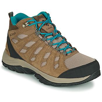 Topánky Ženy Turistická obuv Columbia REDMOND III MID WATERPROOF Béžová