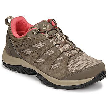 Topánky Ženy Turistická obuv Columbia REDMOND III WATERPROOF Hnedá