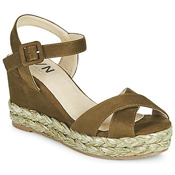 Topánky Ženy Sandále Elue par nous JOHAN Zelená