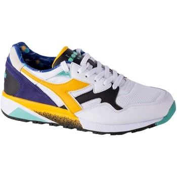 Topánky Muži Nízke tenisky Diadora N9002 Kromadecka Biela,Modrá,Žltá