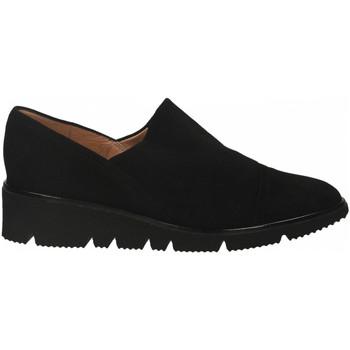 Topánky Ženy Derbie Il Borgo Firenze CAMOSCIO nero