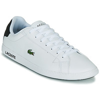 Topánky Muži Nízke tenisky Lacoste GRADUATE 0120 2 SMA Biela / Čierna