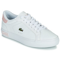 Topánky Ženy Nízke tenisky Lacoste POWERCOURT 0721 2 SFA Biela / Ružová