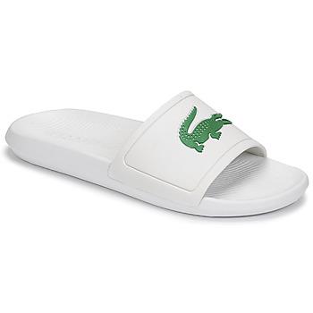 Topánky Muži športové šľapky Lacoste CROCO SLIDE 119 1 CMA Biela / Zelená