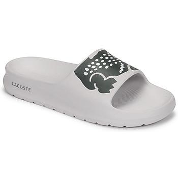 Topánky Ženy športové šľapky Lacoste CROCO 2.0 0721 1 CFA Biela / Čierna