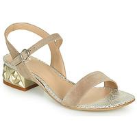 Topánky Ženy Sandále Perlato 11817-CAM-FREJE-STONE Béžová / Zlatá