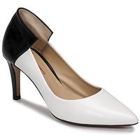 Topánky Ženy Lodičky Perlato 11764-VENUS-BLANC-JAMAICA-NOIR Biela / Čierna