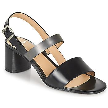 Topánky Ženy Sandále Perlato 11805-JAMAICA-NOIR Čierna