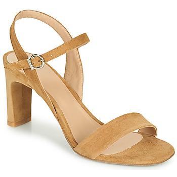 Topánky Ženy Sandále Perlato 11797-CAM-CAMEL Ťavia hnedá