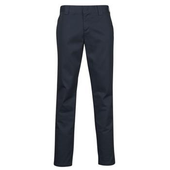Oblečenie Muži Nohavice päťvreckové Dickies SLIM FIT WORK PNT Námornícka modrá