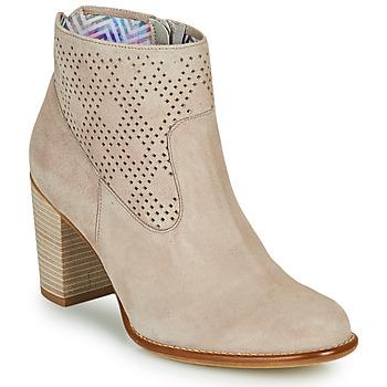 Topánky Ženy Čižmičky Dorking ALEXA Béžová