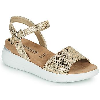 Topánky Ženy Sandále Dorking ROCK Zlatá