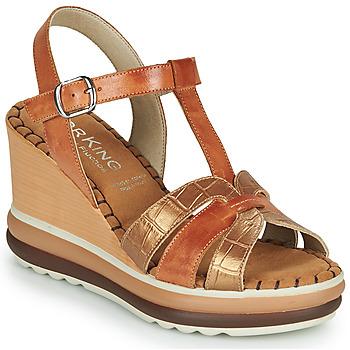 Topánky Ženy Sandále Dorking TOTEM Hnedá
