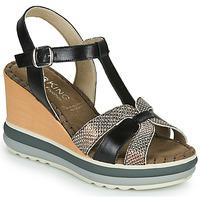Topánky Ženy Sandále Dorking TOTEM Čierna / Bronzová