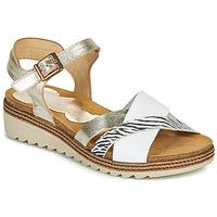 Topánky Ženy Sandále Dorking ESPE Biela / Strieborná
