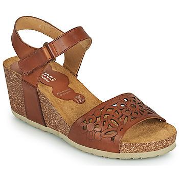 Topánky Ženy Sandále Dorking PALMA Hnedá