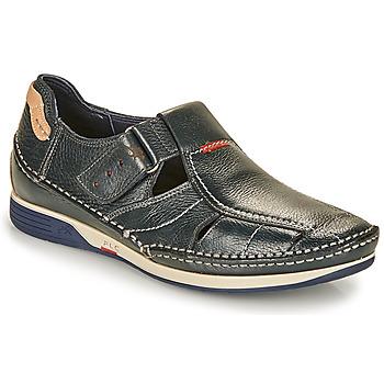 Topánky Muži Sandále Fluchos TORNADO Námornícka modrá