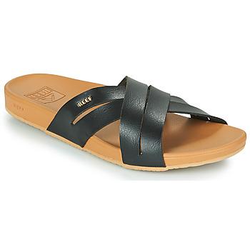 Topánky Ženy športové šľapky Reef CUSHION SPRING BLOOM Čierna