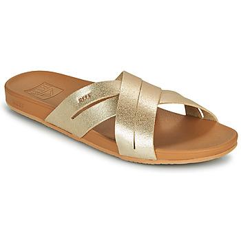 Topánky Ženy športové šľapky Reef CUSHION SPRING BLOOM Zlatá