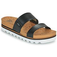 Topánky Ženy športové šľapky Reef CUSHION VISTA HI Čierna