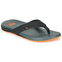 Topánky Muži Žabky Reef CUSHION PHANTOM Čierna / Oranžová