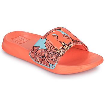 Topánky Dievčatá športové šľapky Reef KIDS ONE SLIDE Oranžová