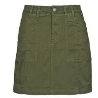 Oblečenie Ženy Sukňa Freeman T.Porter JELISSA CAPY Zelená olivová / Nočná obloha