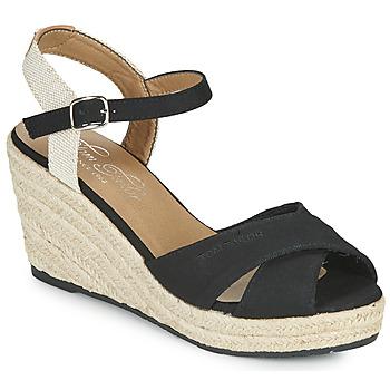 Topánky Ženy Sandále Tom Tailor NOUMI Čierna