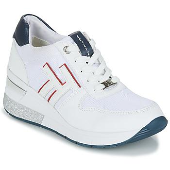 Topánky Ženy Nízke tenisky Tom Tailor JISEL Biela