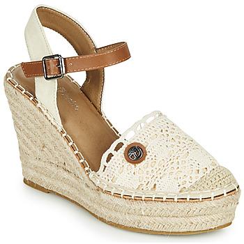 Topánky Ženy Sandále Tom Tailor DEB Krémová