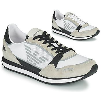 Topánky Muži Nízke tenisky Emporio Armani EMPAGNO Biela