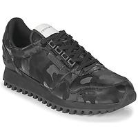 Topánky Muži Nízke tenisky Emporio Armani AUTRIA Čierna