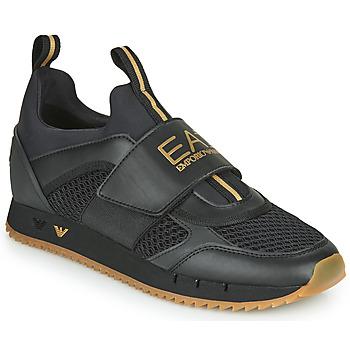 Topánky Muži Nízke tenisky Emporio Armani EA7 CALMONI Čierna