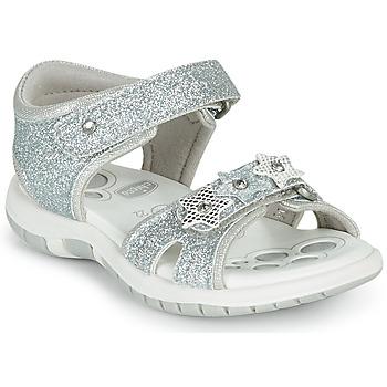 Topánky Dievčatá Sandále Chicco FABIANA Strieborná