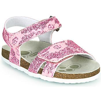 Topánky Dievčatá Sandále Chicco FIORE Ružová