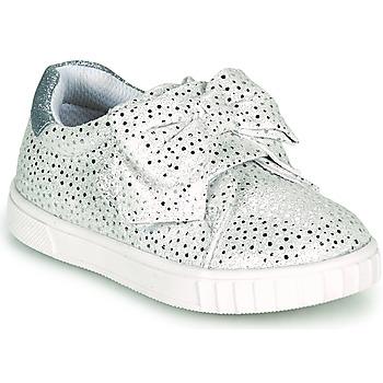 Topánky Dievčatá Nízke tenisky Chicco COLOMBA Strieborná