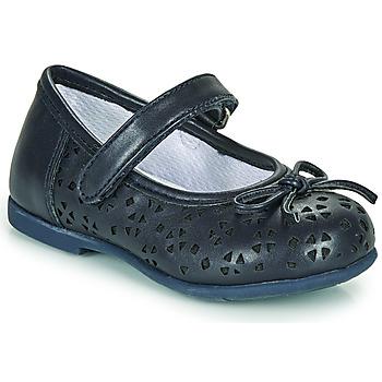 Topánky Dievčatá Balerínky a babies Chicco CARY Námornícka modrá