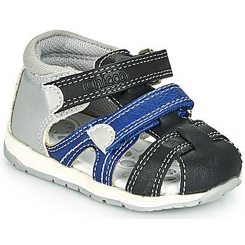 Topánky Chlapci Sandále Chicco GABRIEL Modrá / Šedá