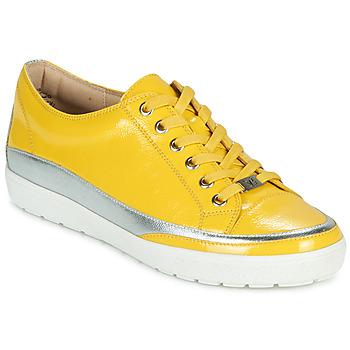 Topánky Ženy Nízke tenisky Caprice 23654-613 Žltá / Strieborná
