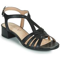 Topánky Ženy Sandále Caprice 28201-022 Čierna