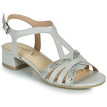 Topánky Ženy Sandále Caprice 28201-233 Béžová