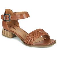 Topánky Ženy Sandále Caprice 28208-303 Koňaková