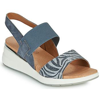 Topánky Ženy Sandále Caprice 28306-849 Šedá