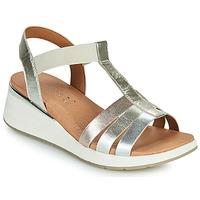 Topánky Ženy Sandále Caprice 28308-970 Strieborná